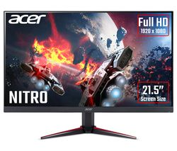"ACER Nitro VG220Qbmiix Full HD 21.5"" IPS LCD Gaming Monitor - Black"