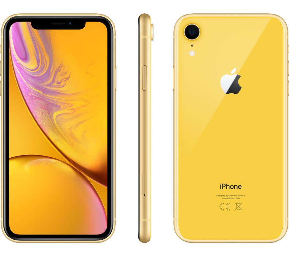 APPLE iPhone XR - 64 GB, Yellow