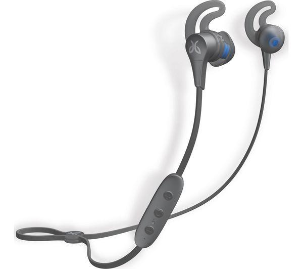 Image of JAYBIRD X4 Wireless Bluetooth Headphones - Metallic Glacier Silver
