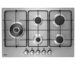 BELLING GHU75C Gas Hob - Stainless Steel