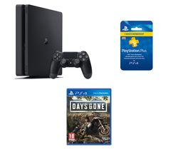 SONY PlayStation 4, Days Gone & PlayStation Plus 3 Month Subscription Bundle - 500 GB