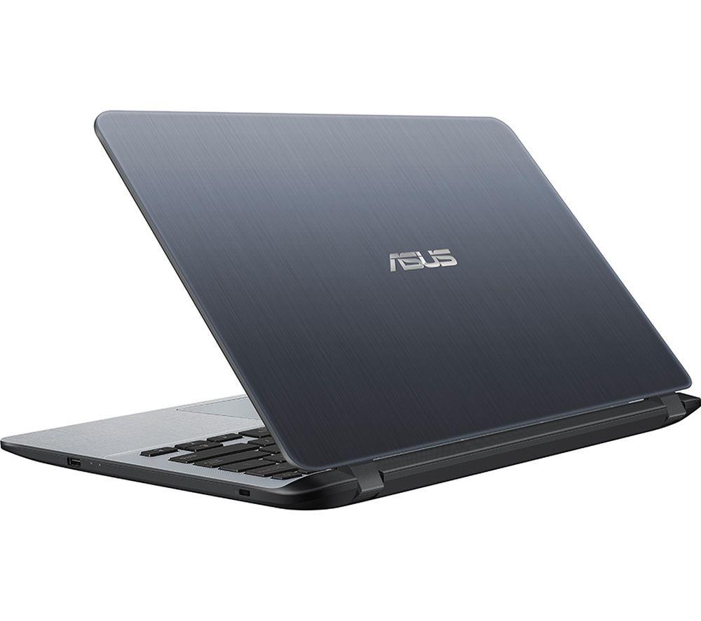 "ASUS VivoBook F407UA 14"" Intel® Pentium® Gold Laptop - 256 GB SSD, Grey"