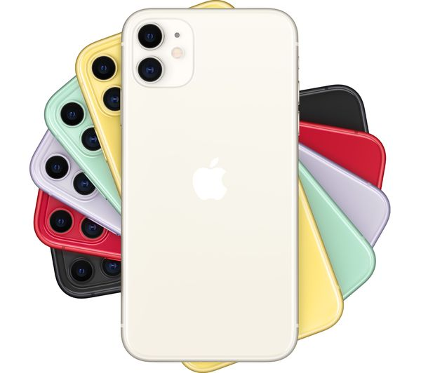 Apple iPhone 11 - 128 GB, White 1