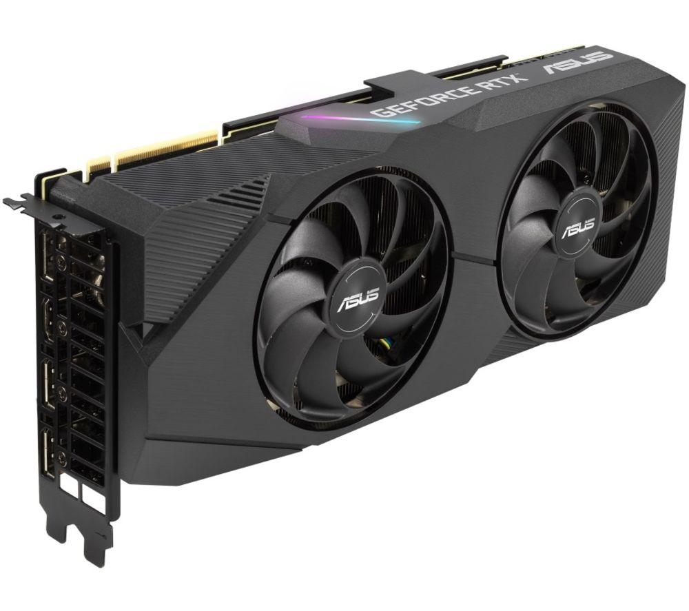 Image of ASUS GeForce RTX 2070 Super 8 GB Dual Evo Graphics Card