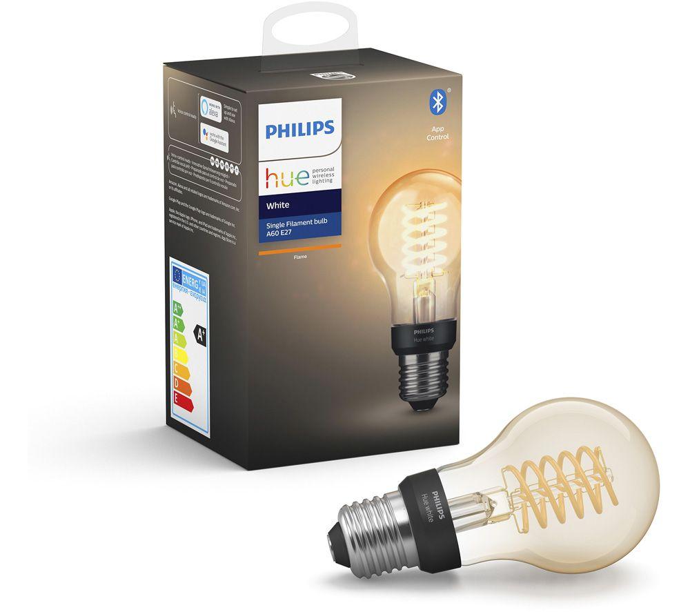 PHILIPS HUE Filament Bluetooth LED Bulb - A60, E27