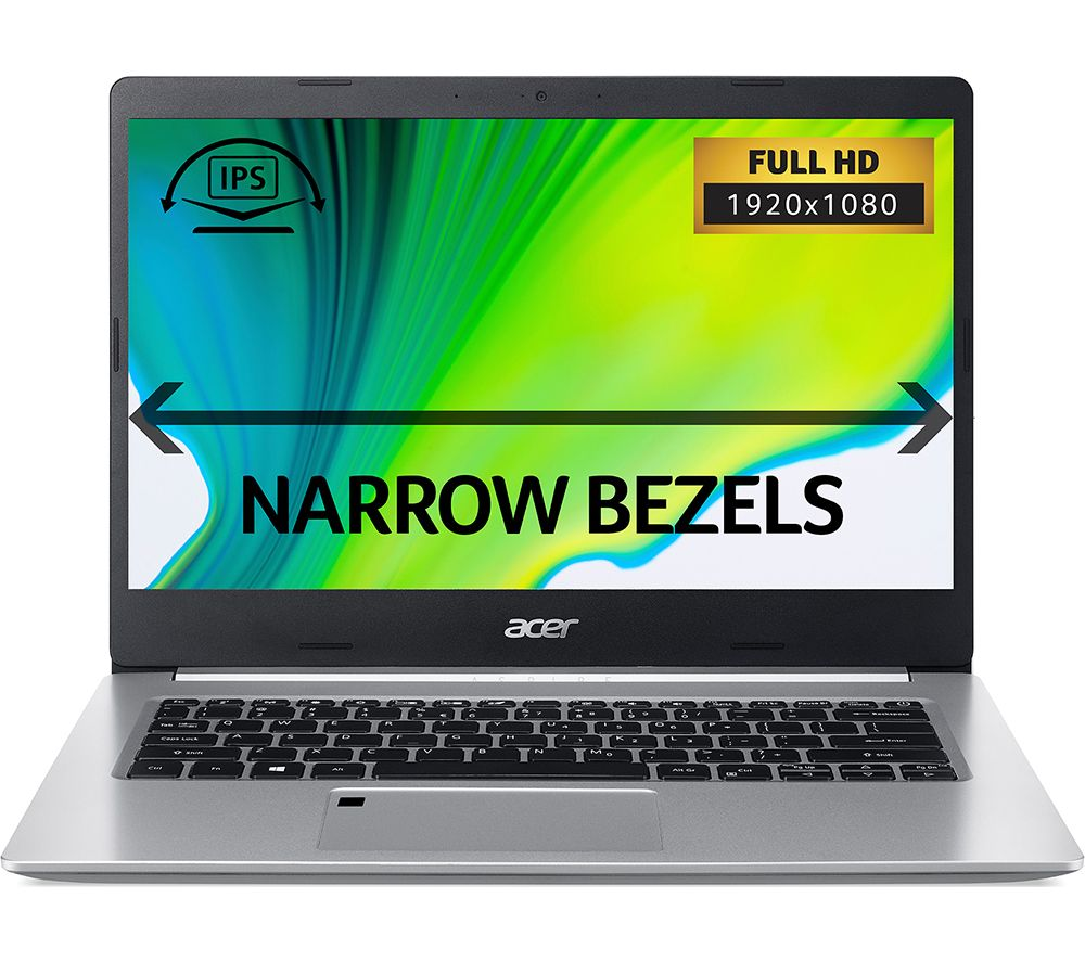 """Image of ACER Aspire 5 A514-52 14"""" Laptop - Intelu0026regCore™ i7, 512 GB SSD, Silver, Silver"""