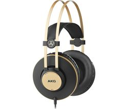 K92 Headphones - Gold & Black