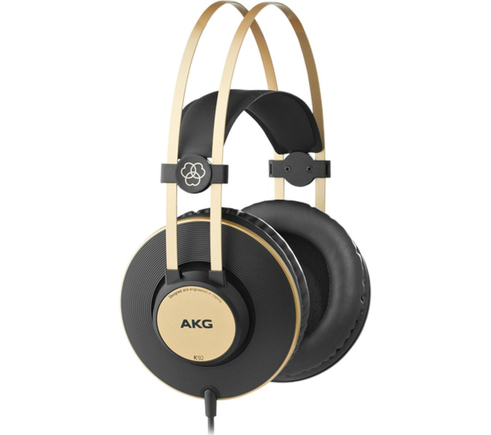 AKG K92 Headphones - Gold & Black