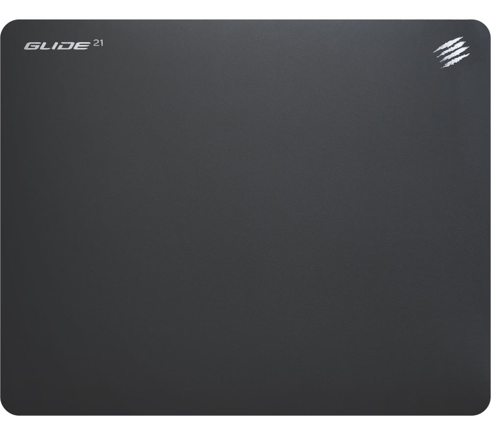 Image of MAD CATZ Medium G.L.I.D.E. Mouse Mat - Black, Black