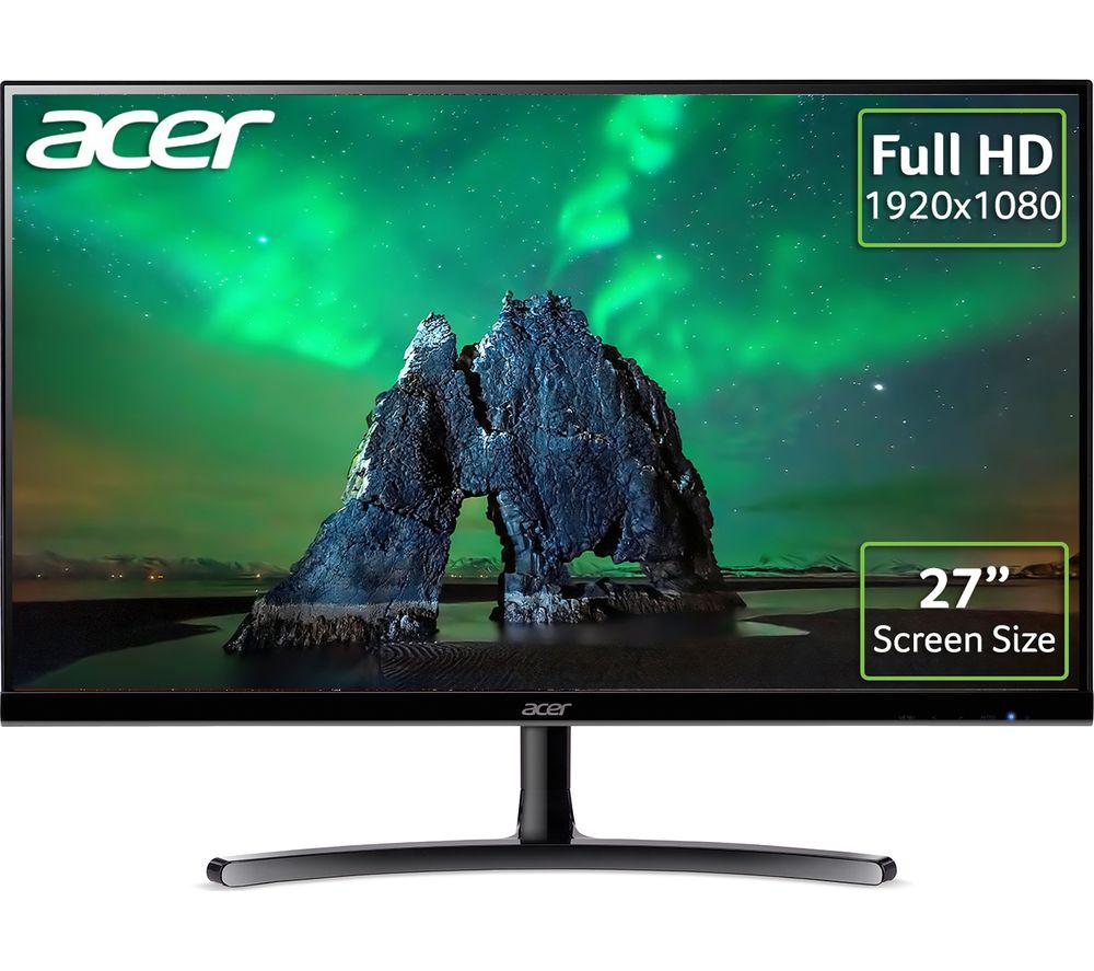 """ACER ED272 Full HD 27"""" IPS LCD Monitor - Black"""