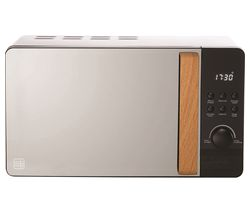 DAEWOO Skandik SDA1698 Solo Microwave - Black Best Price, Cheapest Prices
