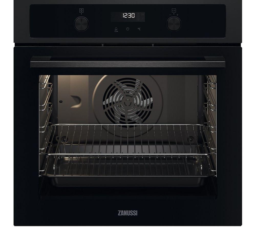 ZANUSSI FanCook ZOCND7K1 Electric Oven - Black