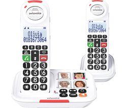 Xtra 2155 Duo ATL1420289 Cordless Phone - Twin Handsets