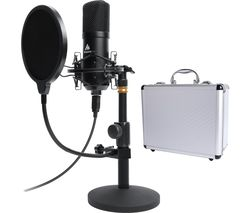 AU-A04TC USB Microphone Kit - Black