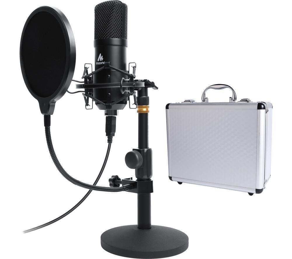 MAONO AU-A04TC USB Microphone Kit - Black