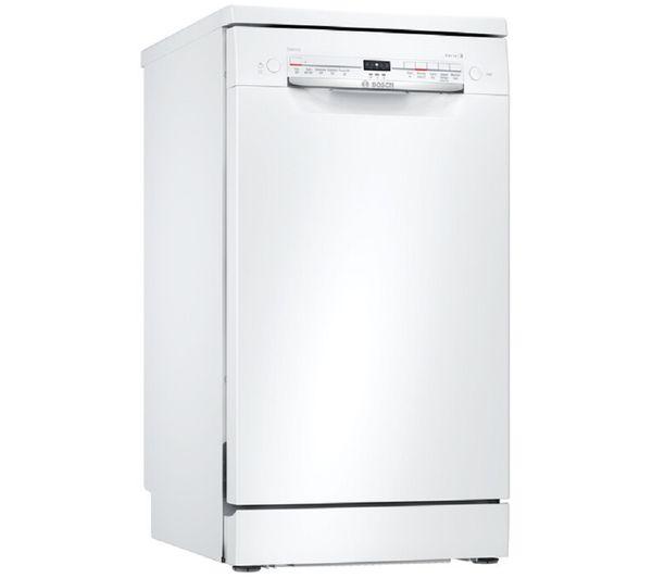 BOSCH SPS2IKW04G Slimline WiFi-enabled Dishwasher - White