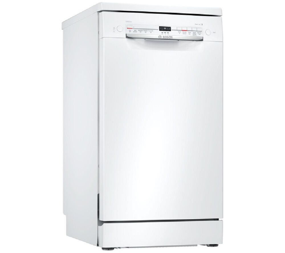 Image of BOSCH SPS2IKW04G Slimline WiFi-enabled Dishwasher - White, White