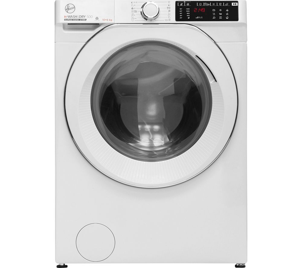 HOOVER H-Wash 500 HDB 4106AMC WiFi-enabled 10 kg Washer Dryer - White, White