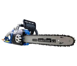 HYC2400E Corded Electric Chainsaw - Blue & Black