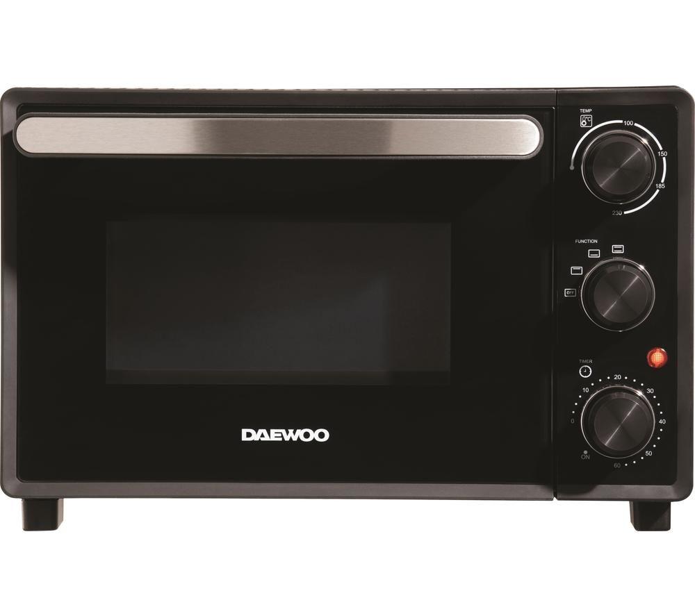 DAEWOO SDA1608 Electric Mini Oven - Black, Black