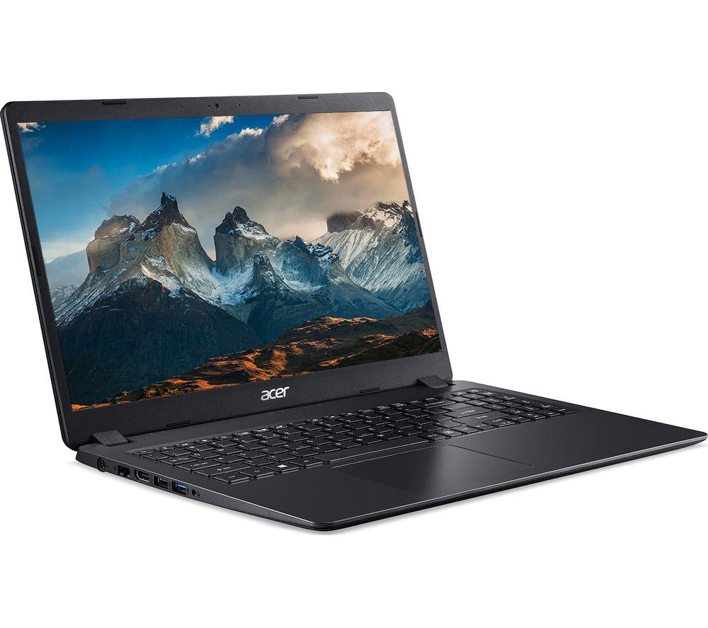 "Image of ACER Aspire 3 A315-56 15.6"" Laptop - Intel®Core™ i3, 128 GB SSD, Black, Black"