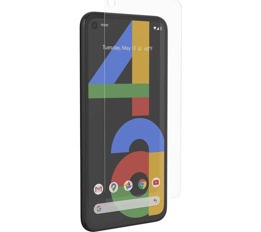 Zagg ClearGuard Pixel 4a Glass Screen Protector