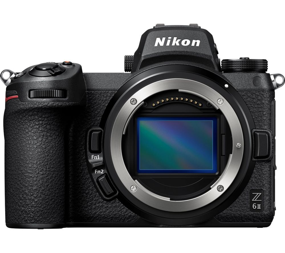 NIKON Z 6II Mirrorless Camera - Black, Body Only