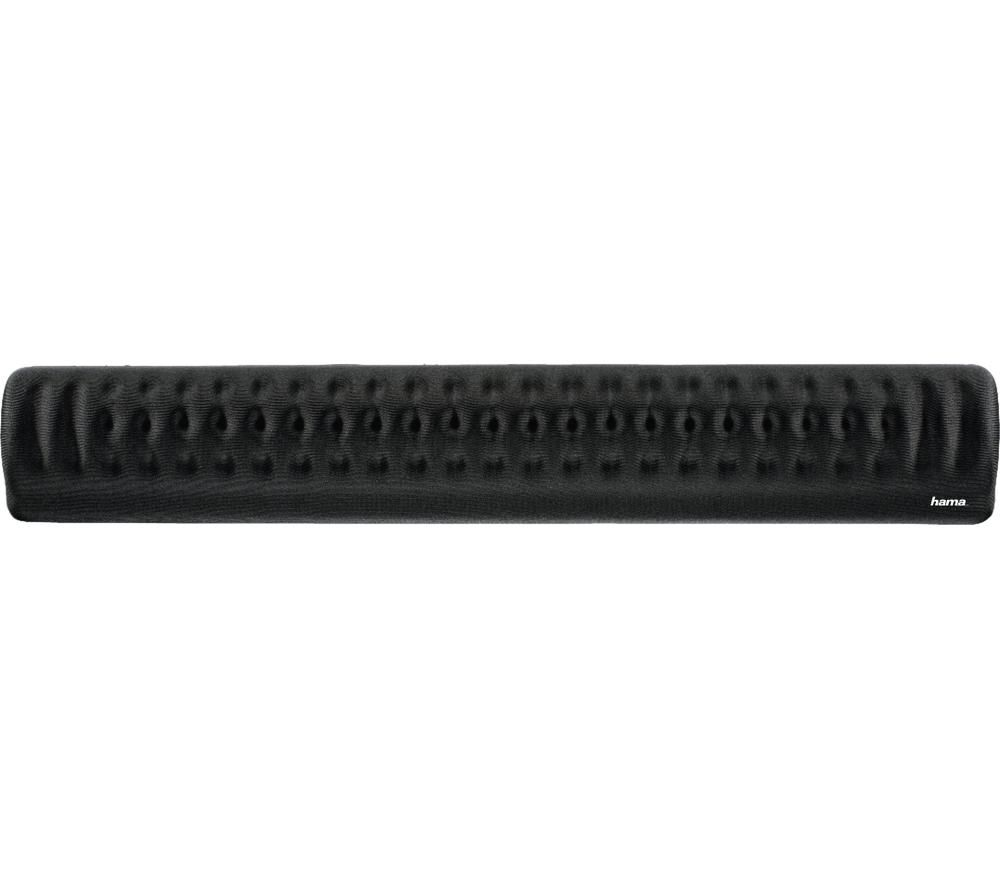 Image of HAMA Profile 54774 Keyboard Wrist Rest - Black, Black