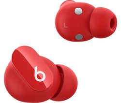 Studio Buds Wireless Bluetooth Noise-Cancelling Earbuds - Red