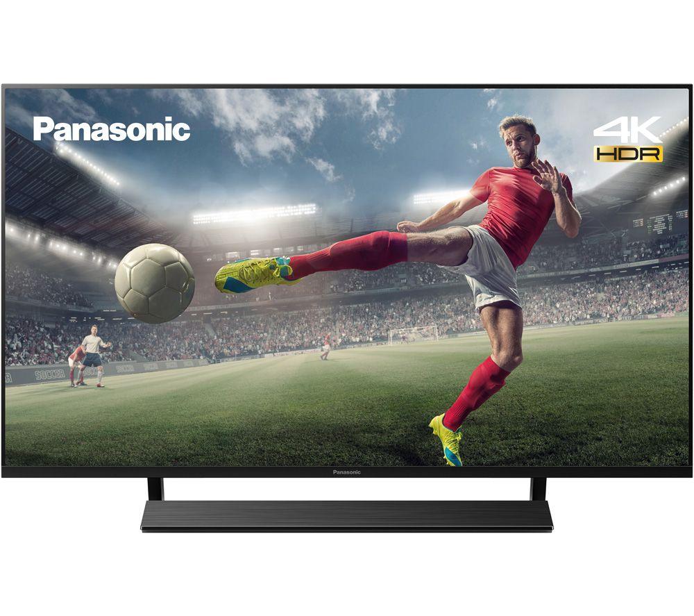 40 PANASONIC TX-40JX850B  Smart 4K Ultra HD HDR LED TV with Google Assistant & Amazon Alexa