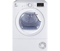 H-Dry 300 HLE C9DG WiFi-enabled 9 kg Condenser Tumble Dryer - White