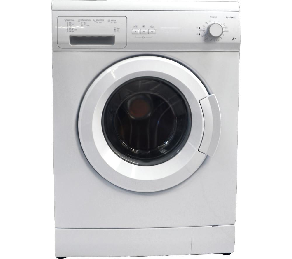 ESSENTIALS C510WM14 Washing Machine - White + Select DSX83410W Heat Pump Tumble Dryer - White