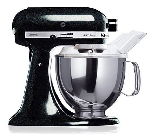 Image of KITCHENAID Artisan Stand Mixer - Black, Black