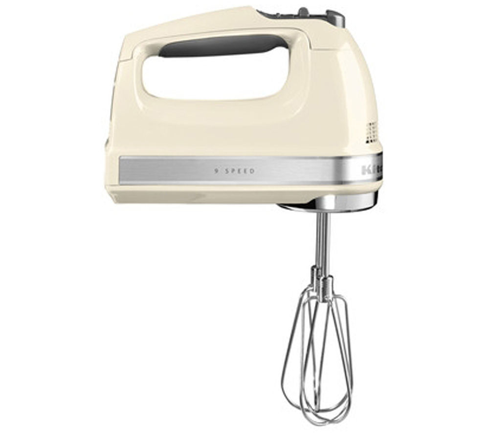 KITCHENAID 5KHM9212BAC Hand Mixer - Almond Cream, Cream