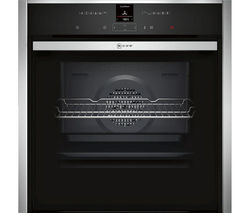 NEFF B57CR22N0B Slide and Hide Electric Oven - Stainless Steel