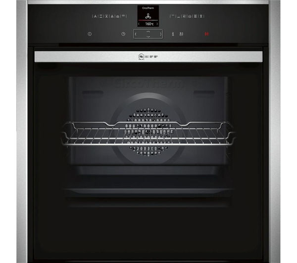 NEFF N70 B57CR22N0B Slide&Hide Electric Oven - Stainless Steel