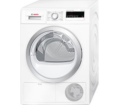 BOSCH Serie 4 WTH85200GB Heat Pump Tumble Dryer - White