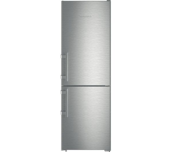 Image of LIEBHERR CNef 3515 60/40 Fridge Freezer - Stainless Steel
