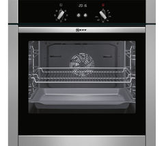 NEFF B44M42N5GB Slide & Hide Electric Oven - Stainless Steel