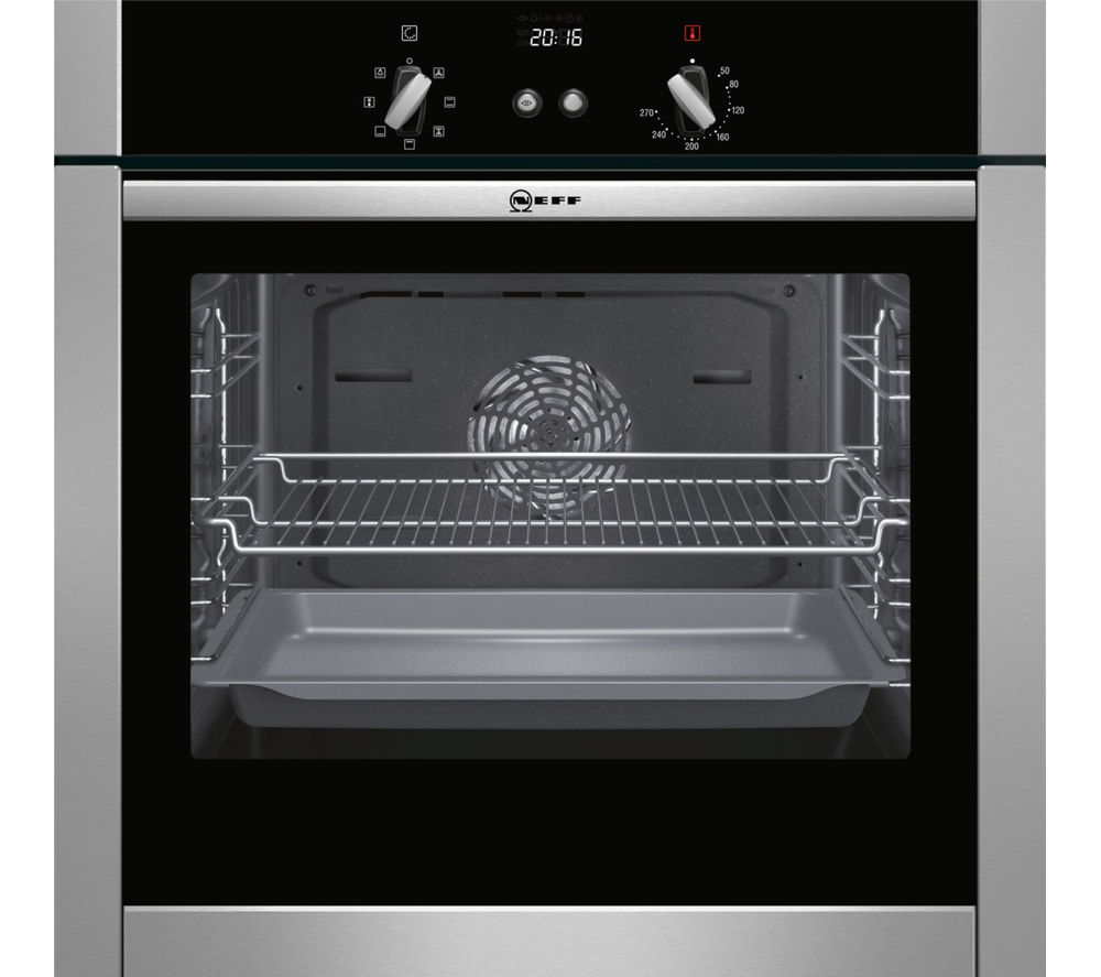 NEFF B44M42N5GB Slide & Hide Electric Oven - Stainless Steel