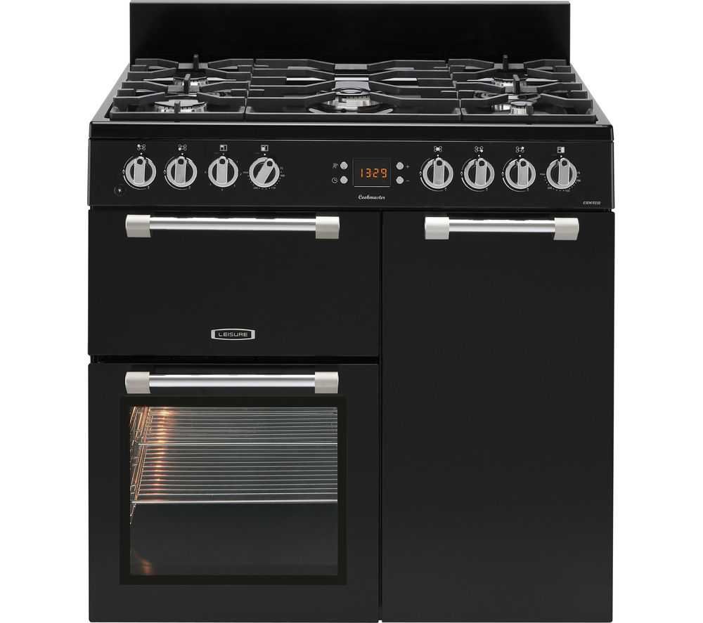 Compare retail prices of Leisure Cookmaster CK90F232K 90cm Dual Fuel Range Cooker to get the best deal online