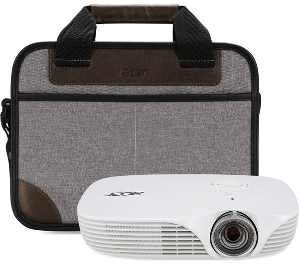 Acer k138st hd ready mini projector deals pc world for Compact hd projector
