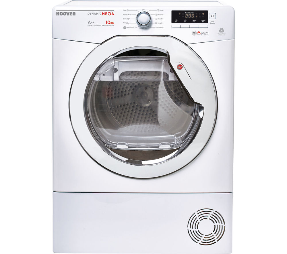 HOOVER DMH D1013A2 Heat Pump Tumble Dryer - White