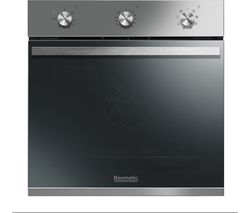 BAUMATIC BOMM608X Electric Oven - Stainless Steel