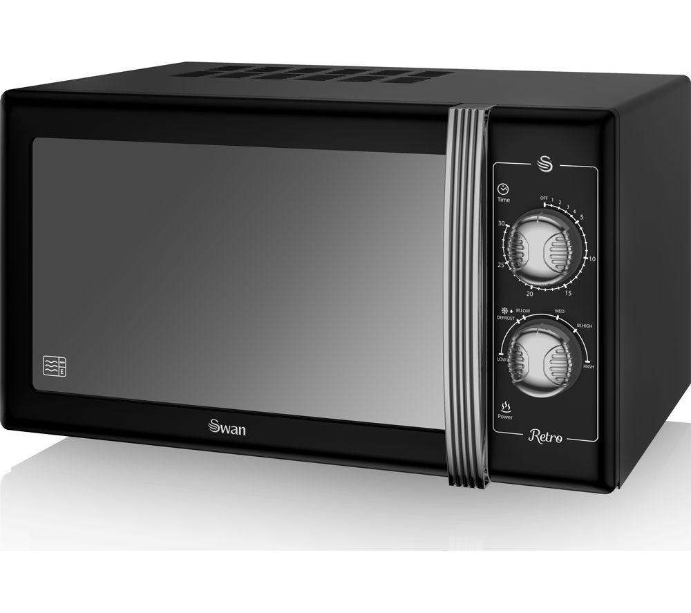 Swan SM22070 Standard Microwave - Black