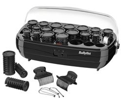 BABYLISS Thermo BAB3045 Ceramic Rollers - Black