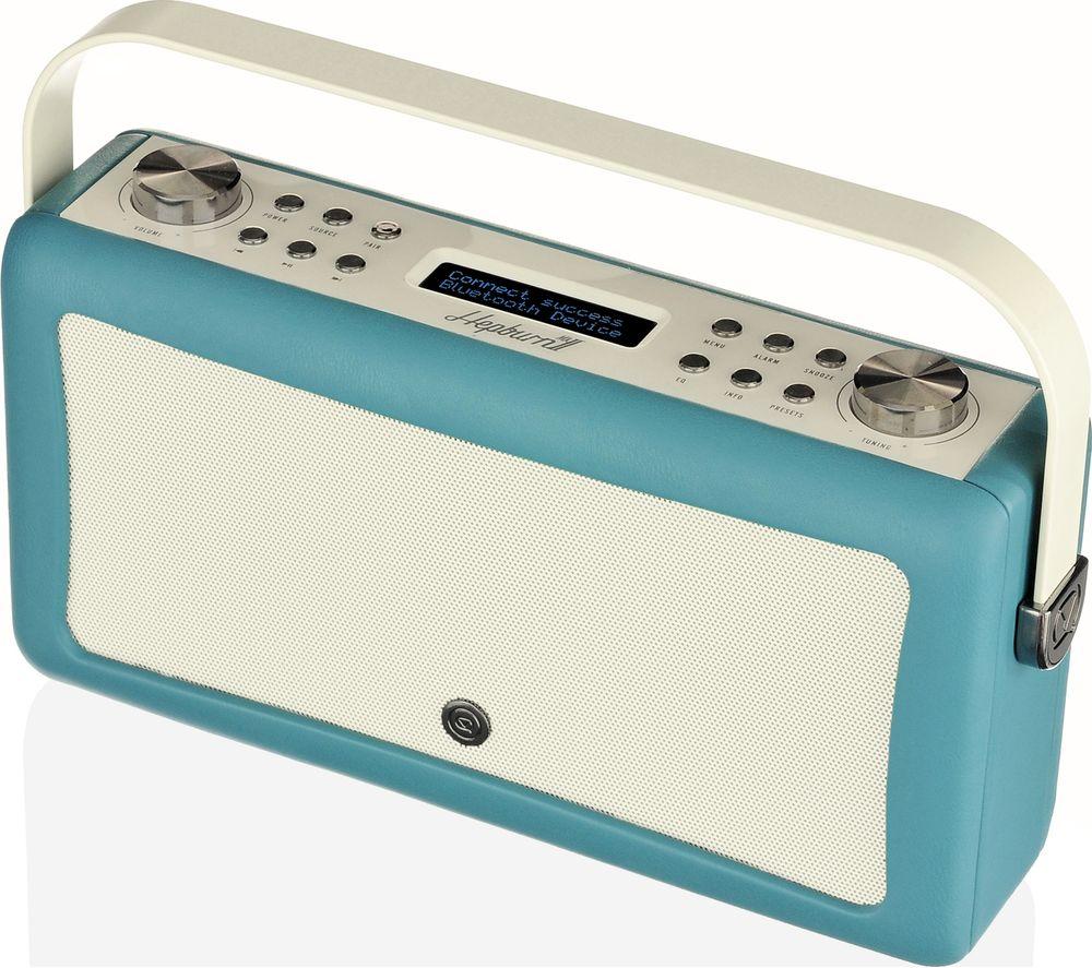 buy vq hepburn mk ii portable dab fm bluetooth radio. Black Bedroom Furniture Sets. Home Design Ideas