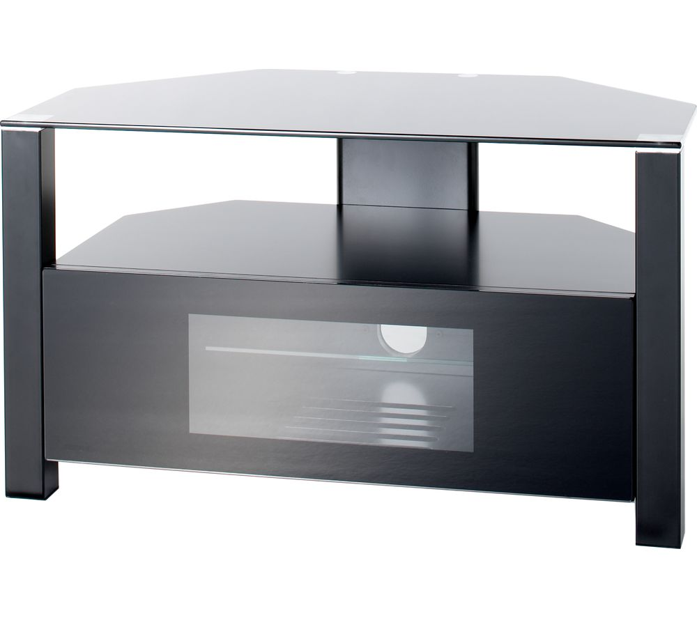 ALPHASON Ambri 800 TV Stand - Black, Black