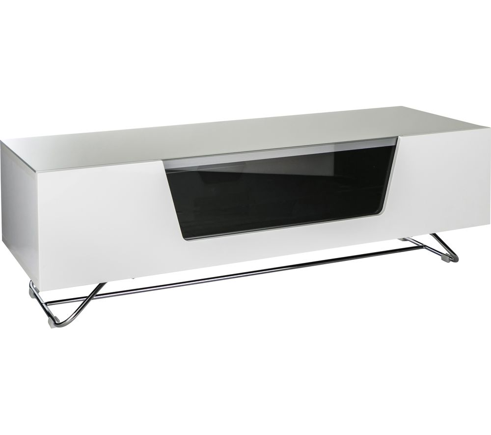 ALPHASON Chromium 2 1200 TV Stand - White