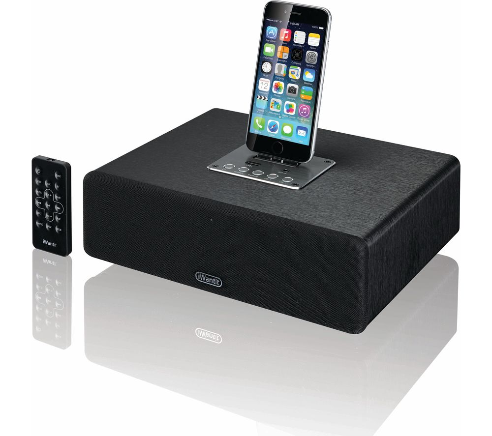IWANTIT IBTLI17 Bluetooth Wireless Docking Station - Black